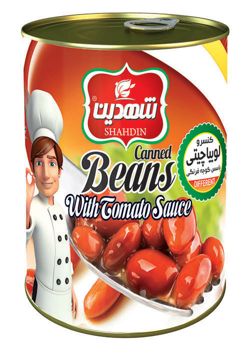 Pinto beans Can  food with tomato paste